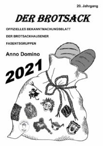 Brotsack 2021 Titelseite